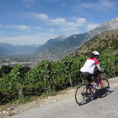 Col du Sanetsch - Switzerland - Road Cycling Europe